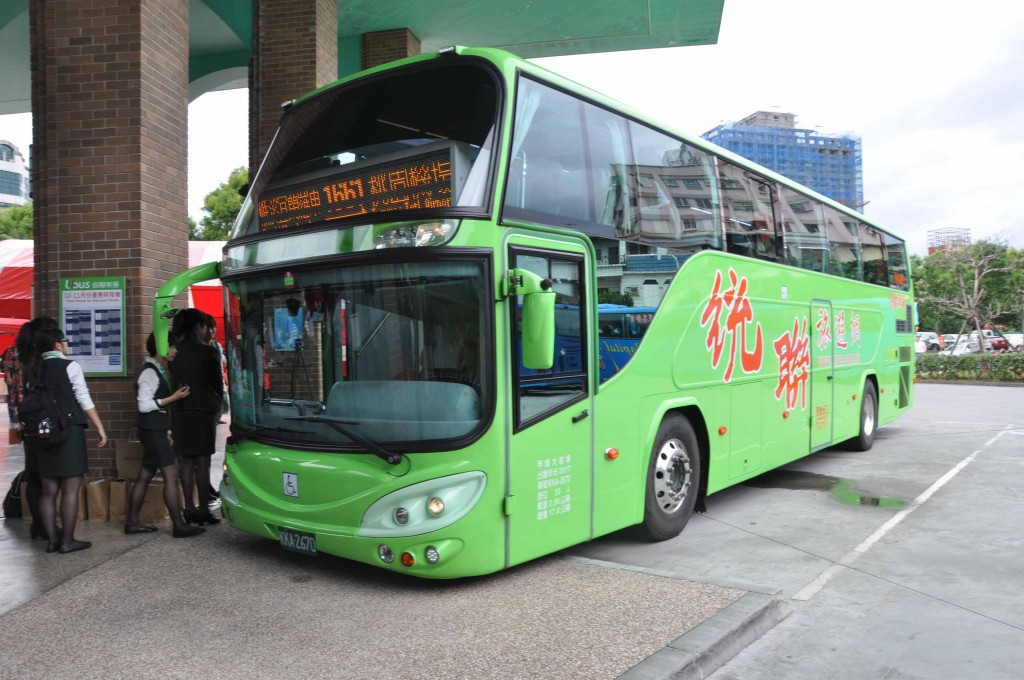1661 bus will take passengers from Yilan to Taoyuan airport