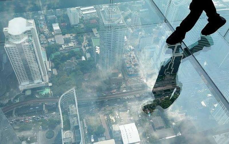 Mahanakhon SkyWalk(圖/取自其臉書)