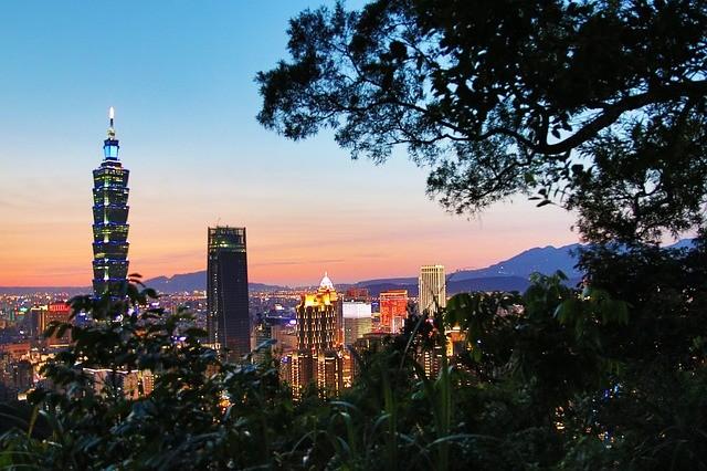 Taipei skyline. (Image from Max Pixel)