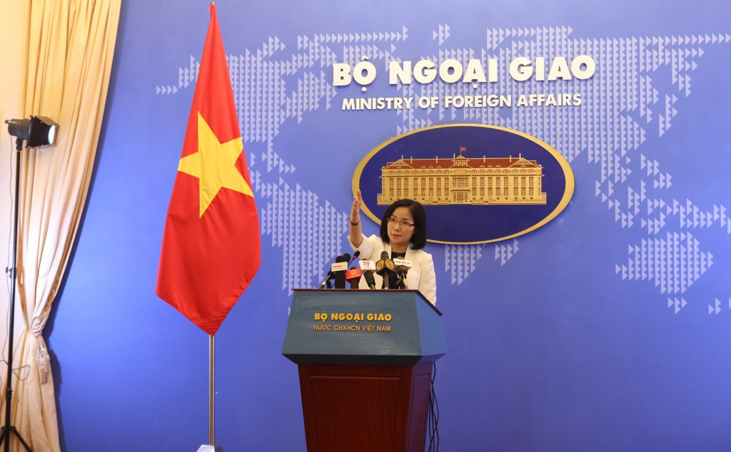 Vietnam Foreign Ministry spokeswoman Nguyen Phuong Tra.