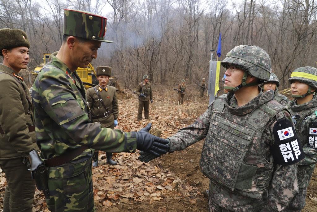(南韓國防部。美聯社提供)
