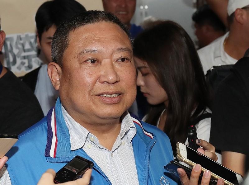 Chinese Taipei Olympic Committee Chairman Lin Hong-dow.