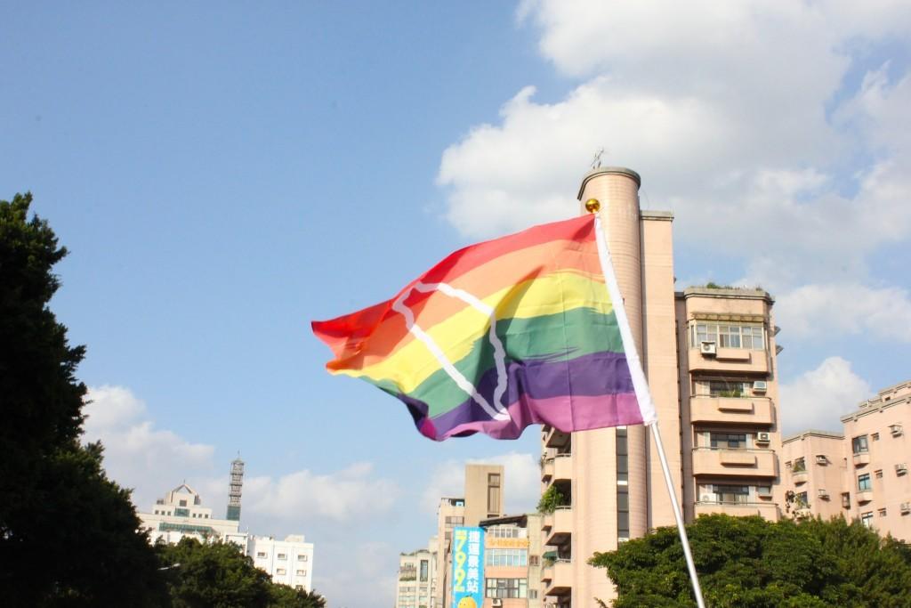 LGBT pride parade in Taipei, 2018
