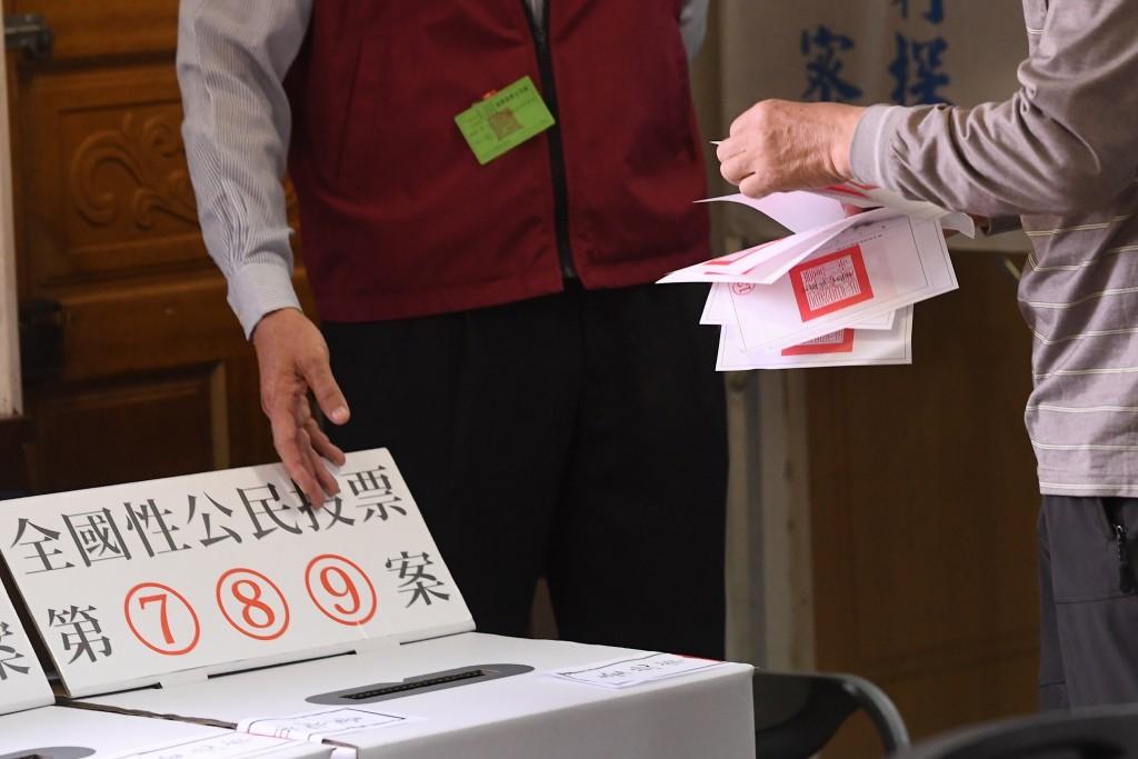 九合一地方大選及全國性公投於24日舉行(照片來源:中央社提供)