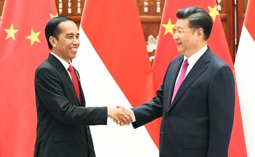 Jokowi and Xi Jinping, file photo, 2016