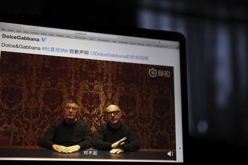 D&G設計師因失言公開道歉(美聯社)