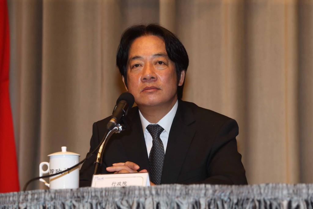 Premier William Lai rescinds his resignation on No...