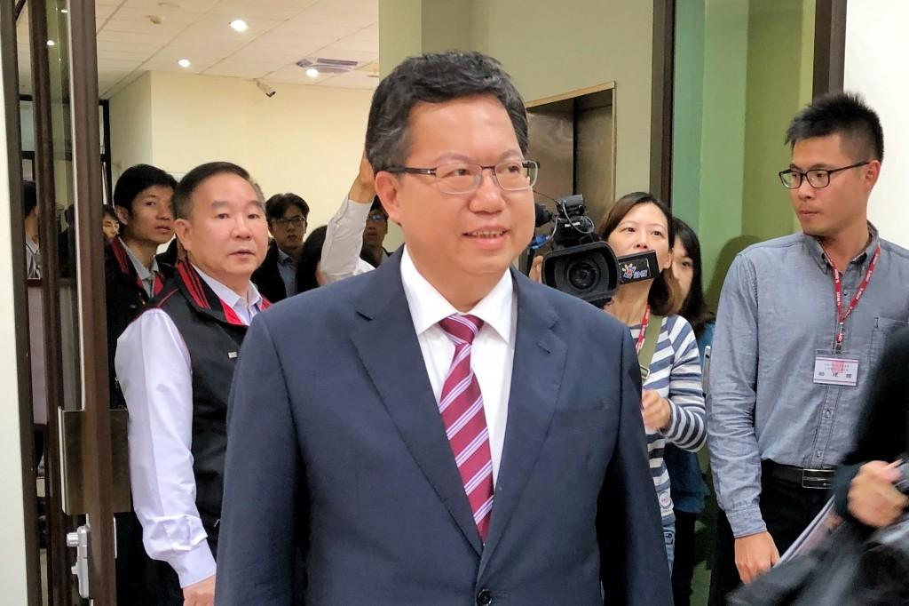 可望代理民進黨主席 鄭文燦:沒想那麼多