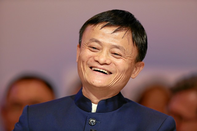Jack Ma. (Image from flickr user World Economic Forum)