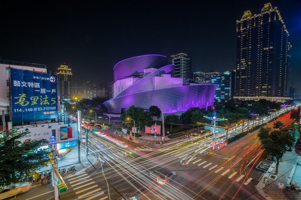 Taoyuan Exhibition Center. (Image from travel.tycg.gov.tw)