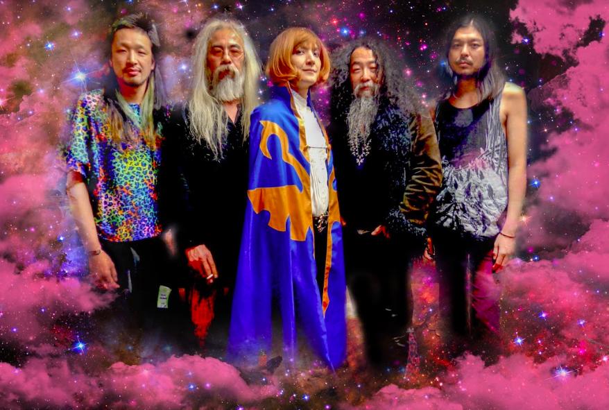日本迷幻搖滾樂團「酸媽廟-極樂天堂不明飛行物」將於29日來...