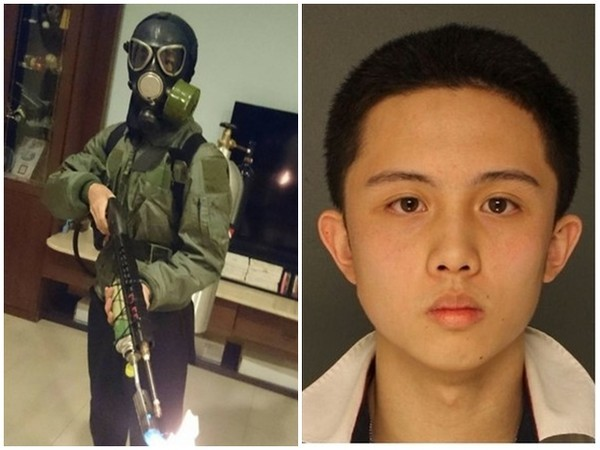 Images from Facebook (left), and Upper Darby Police (right).
