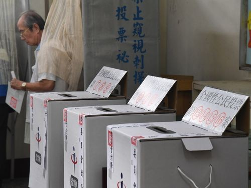 Ballot boxes for last Saturday's referendums.