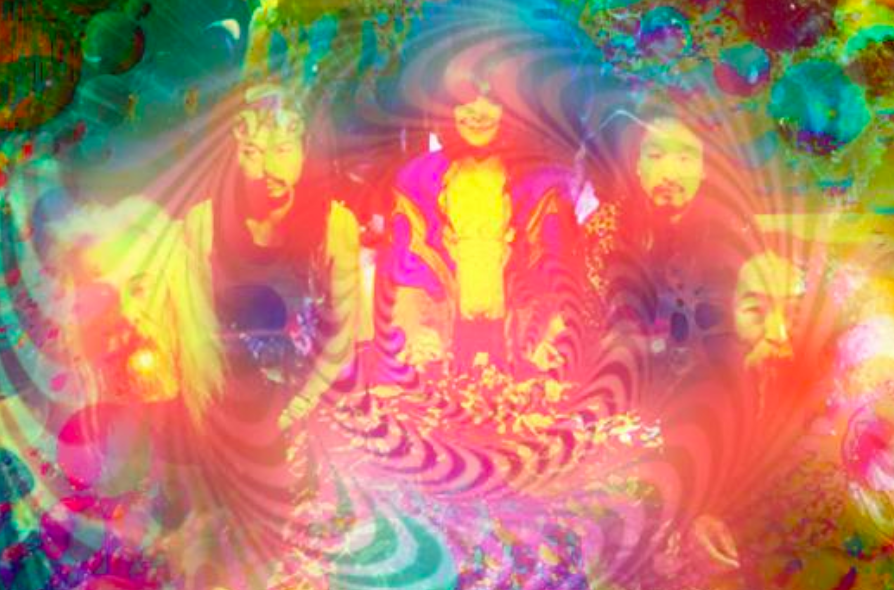 Acid Mothers Temple performed 100 gigs annually  (image by Acid Mothers Temple Facebook)