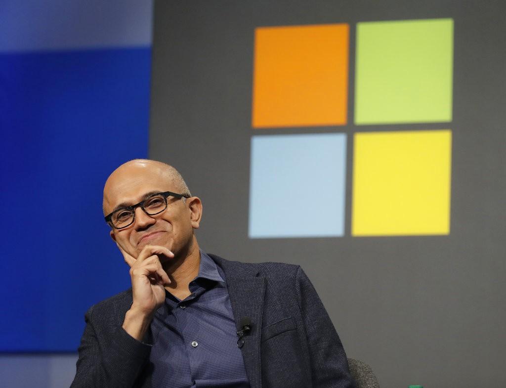 微軟(圖片來源:美聯社)
