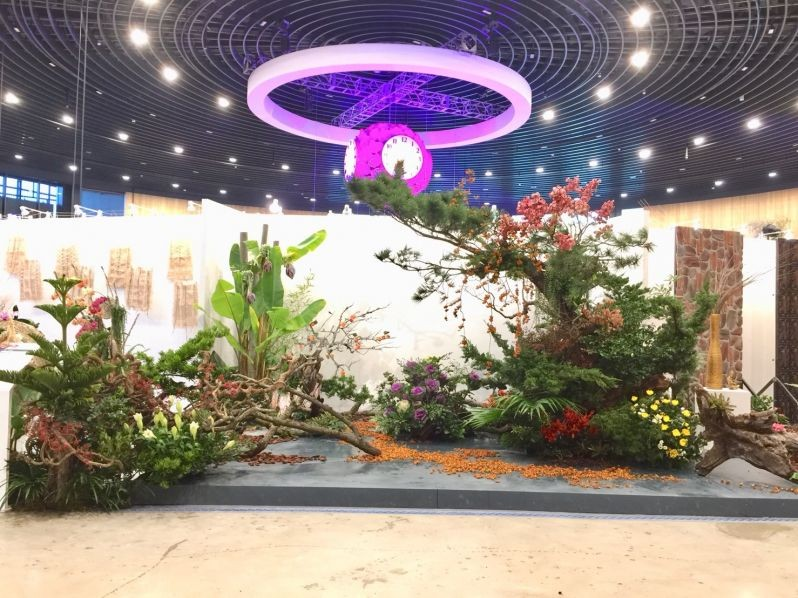 The silver medal winner of the Intl. Indoor Floriculture Competition at the Taichung World Flora Expo (Image courtesy of CFAF)