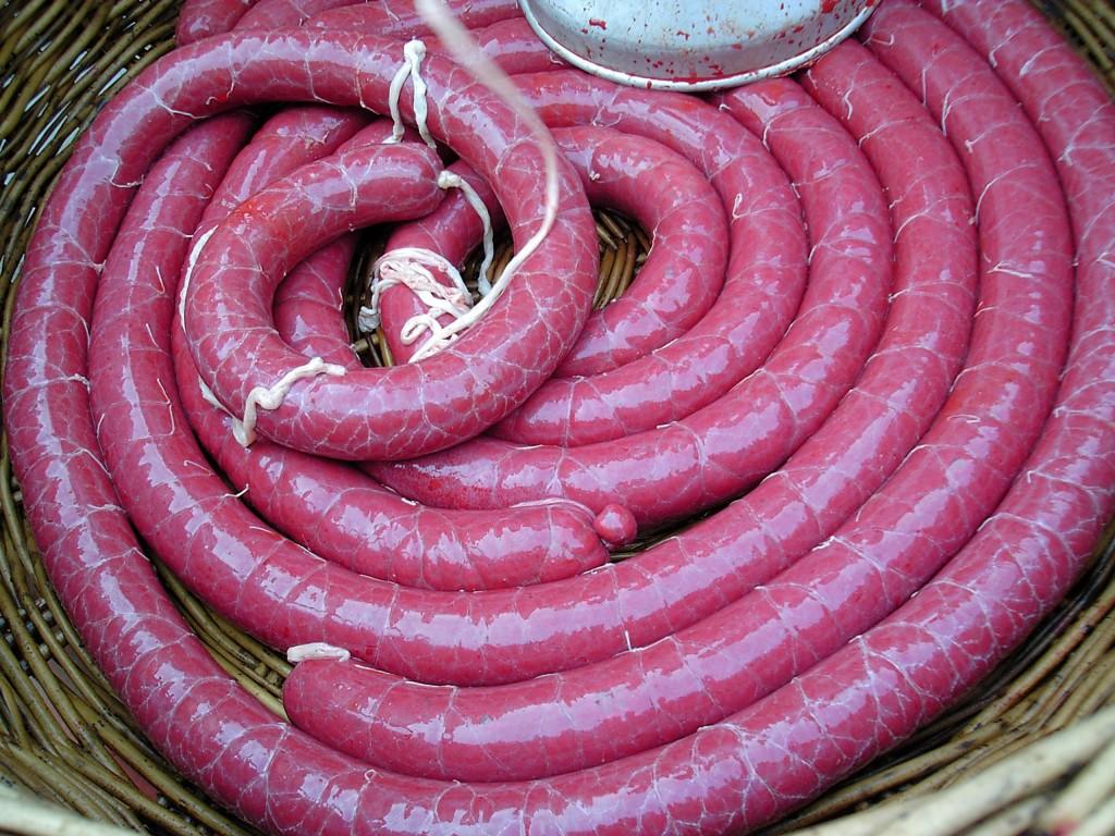 豬肉血腸(圖片來源:維基百科)