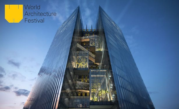 Taichung Commercial Bank HQ concept art (Aedas Press Release Image)
