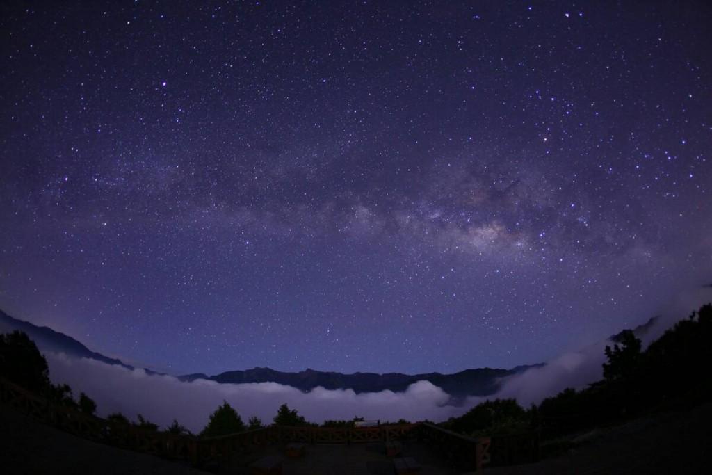 小笠原星空銀河。(照片來源:林務局)