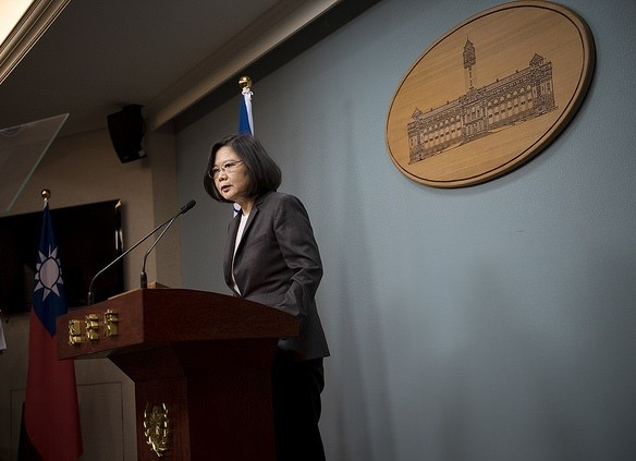 Taiwan President Tsai Ing-wen (Photo courtesy of Presidential Office)