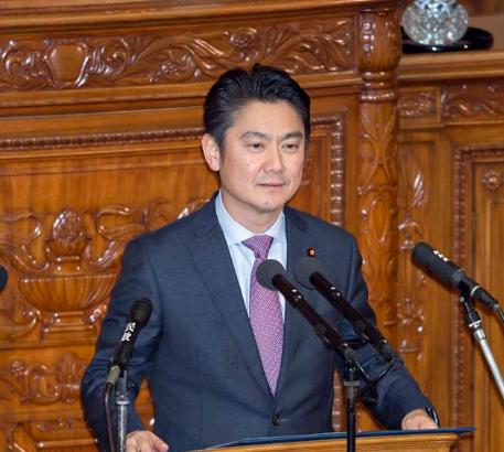日本法務大臣山下貴司(翻攝自其臉書)