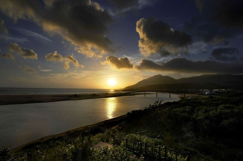 Sunrise at Fulong (photo courtesy of Tourism Bureau)