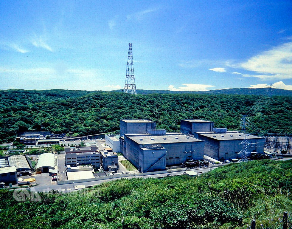 Jinshan Nuclear Power Plant. (Image from Taipower)