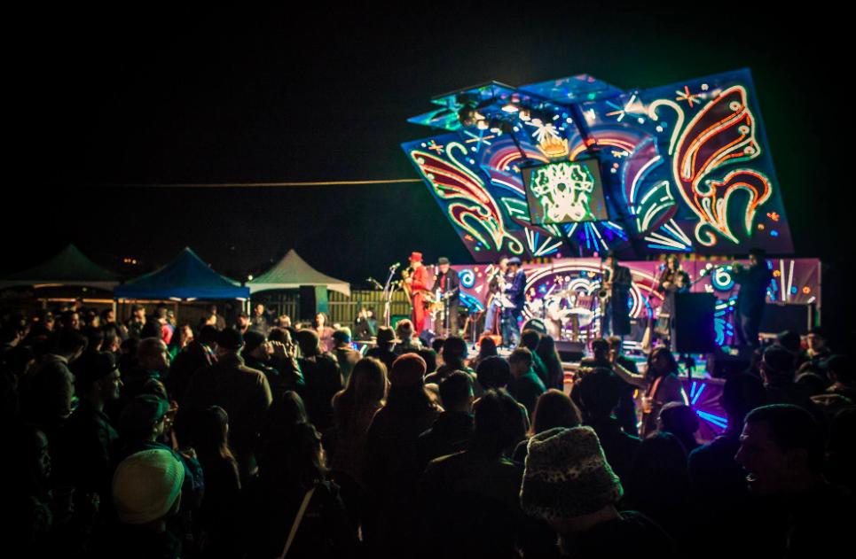 虎山音樂祭即將於週末台北信義區登場(圖/虎山音樂祭)