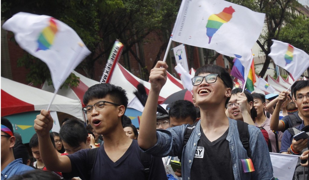 Taiwan has registered almost 4,000 same-sex partnerships.