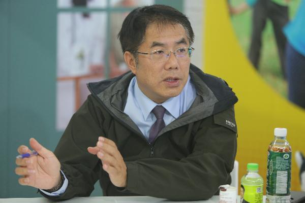 Tainan Mayor-elect Huang Wei-che