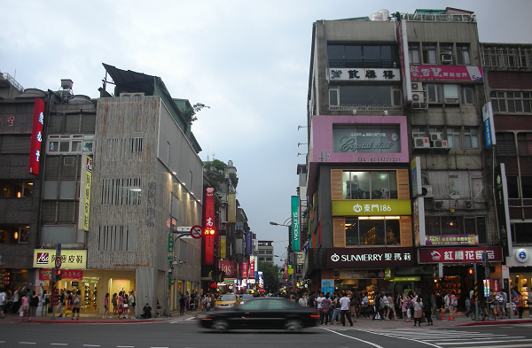 File Photo of Taipei's Yongkang Street