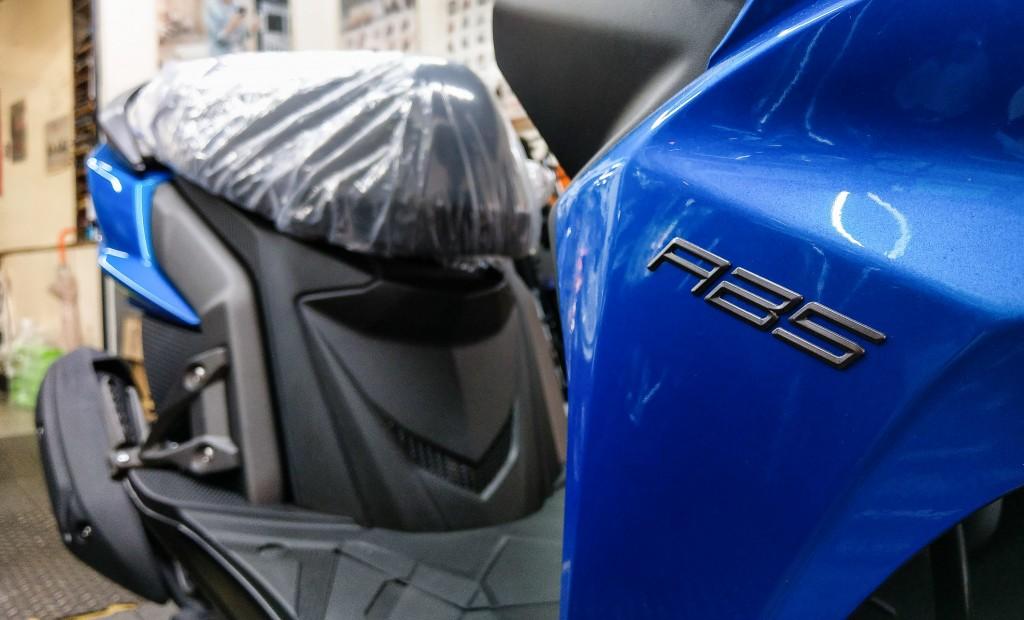 有關明年元旦開跑的機車加裝安全裝置ABS議題,交通部23日表示,政府將補助民眾加裝ABS(照片來源:檔案照片/中央社提供)