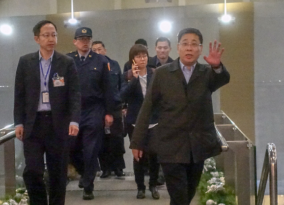 Shanghai Taiwan Affairs Office Dir. Li Wenhui departed Taiwan, Dec. 11