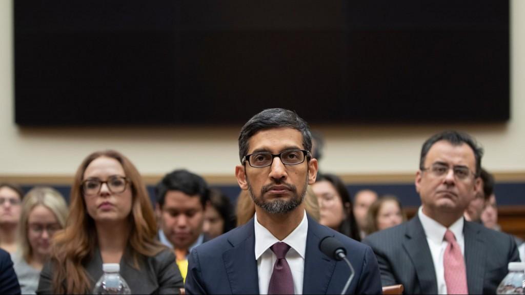Google CEO Sundar Pichai testifies before US Congress