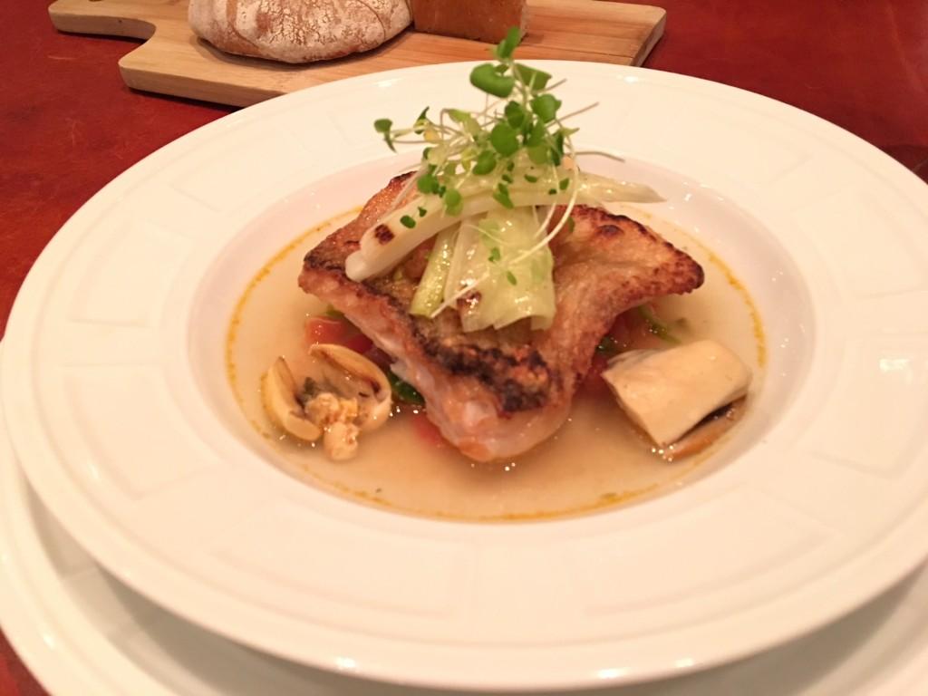 文華東方酒店「Bencotto」義式餐廳今年入榜,圖為該餐廳的料理(圖片來源:台灣英文新聞施家恩攝)
