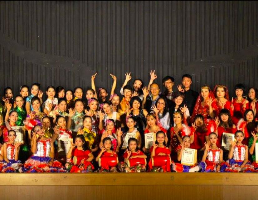 2017年新住民舞蹈大賽(示意圖:官方臉書)