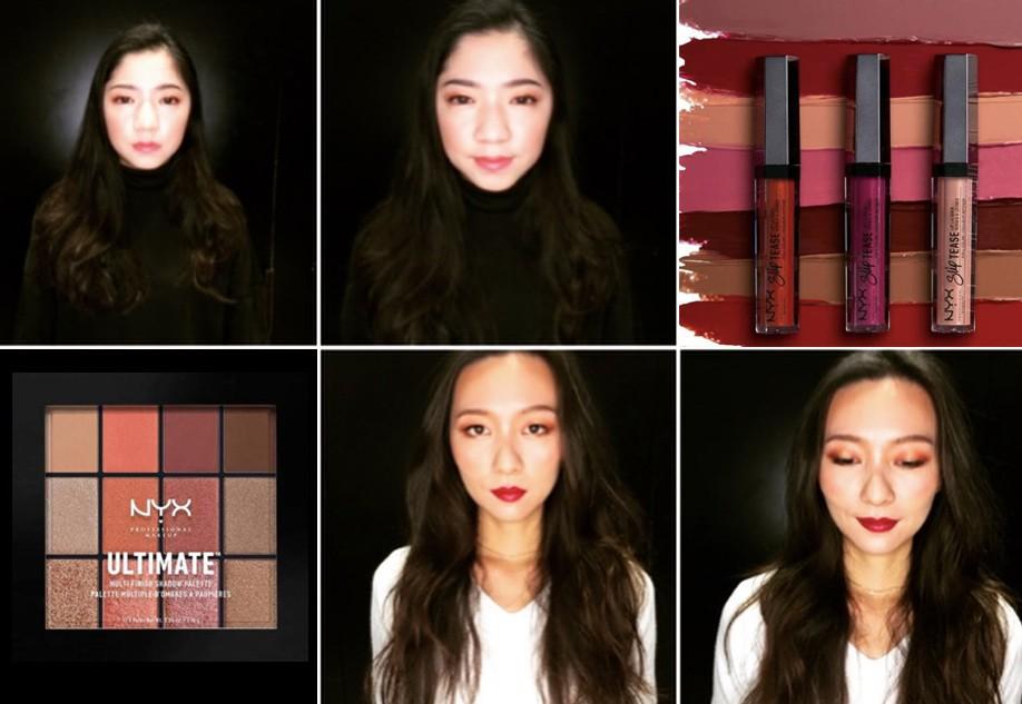 NYX產品顏色多變,適合創造各式妝容(圖/台灣英文新聞)