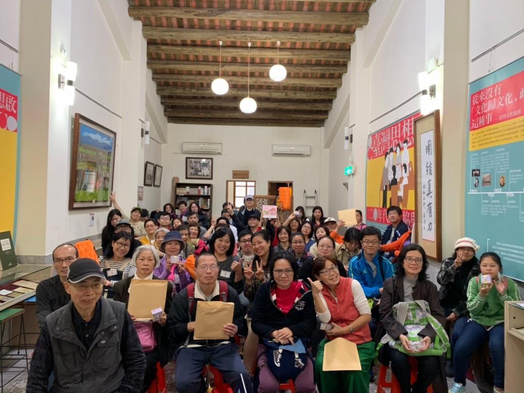 12月15日熱情參加導覽的新住民朋友與國人(圖片來源:台灣英文新聞)