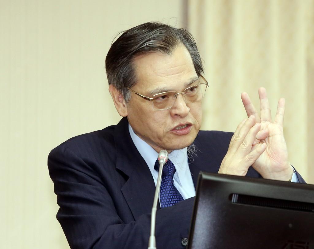 陸委會主委陳明通針對非洲豬瘟議題表示,中國政府失能並非故意(圖/中央社)
