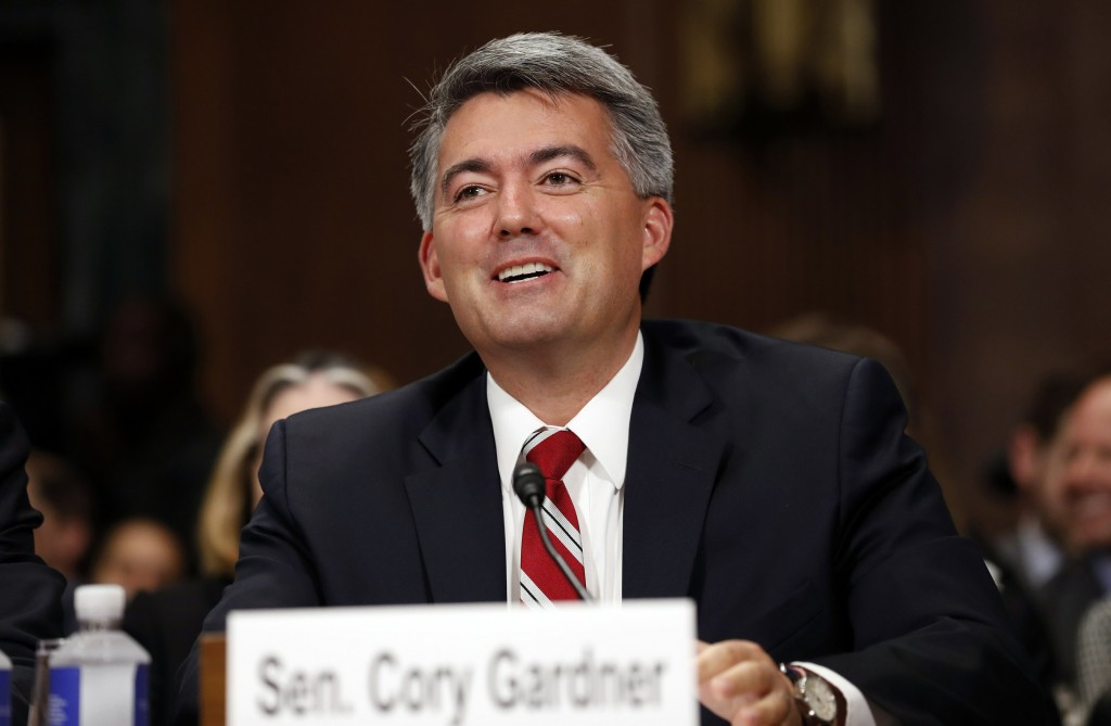 Leader of the bill, Senator Cory Gardner