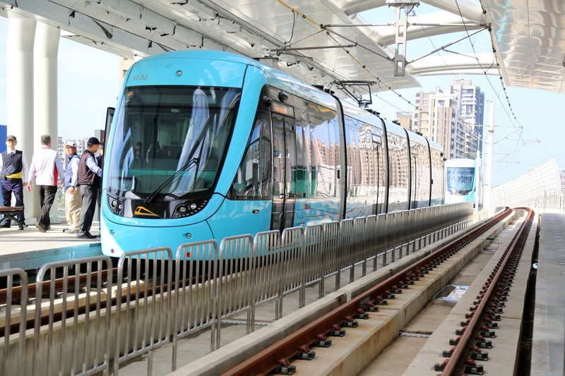 Taiwan's Tamsui light rail line to open to public on Christmas Eve