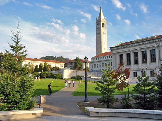 The University of California at Berkeley (photo by gku)