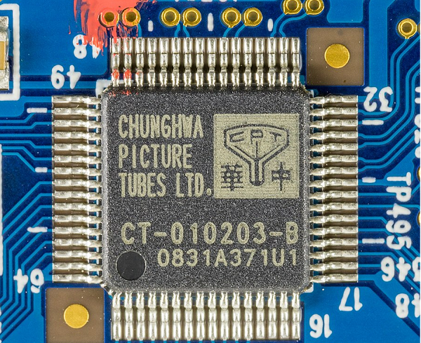 Chunghwa Picture Tubes chip for display panels
