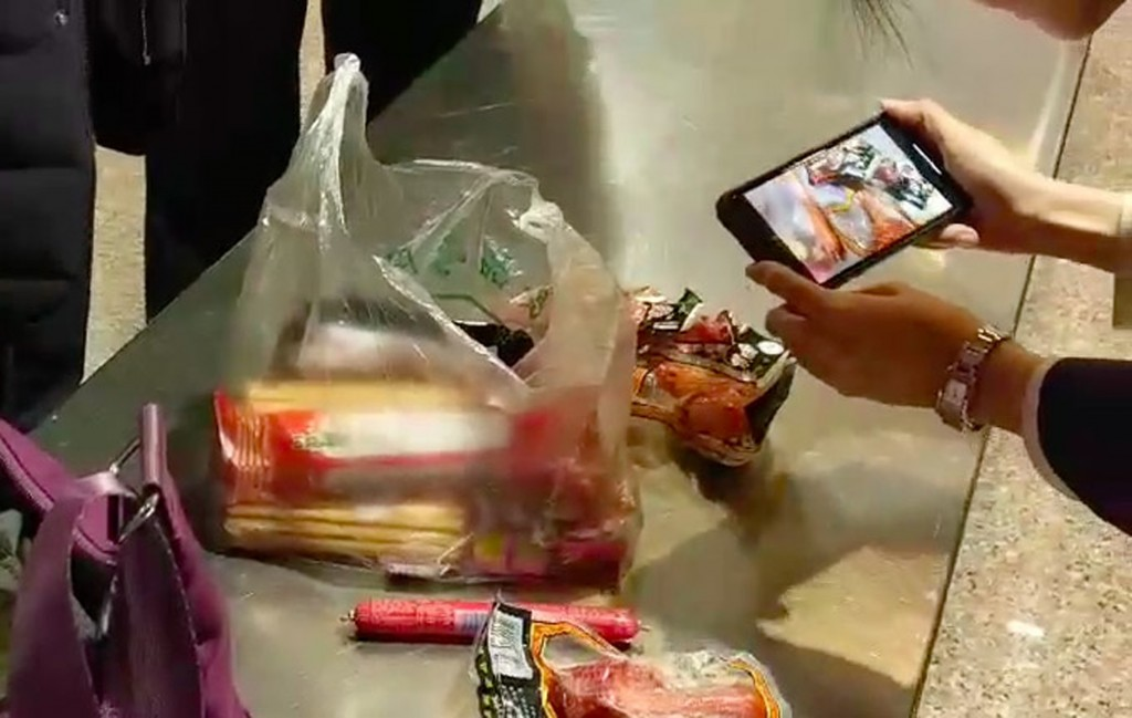 More banned meat products were found at Taiwanese airports Thursday.