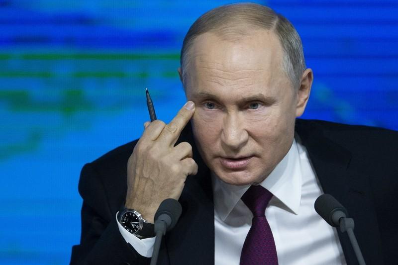俄國總統普丁(圖/美聯社)