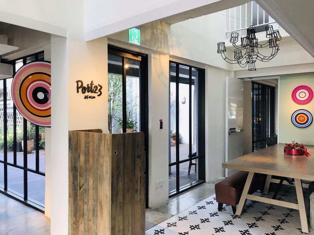 同心圓,慶團圓,Folio Hotel和富邦藝術基金會,帶旅客從藝術感受過年的熱鬧氣氛。 (Folio Hotel提供)