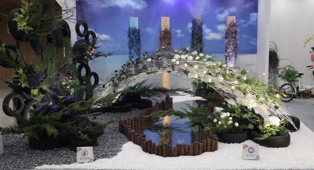 臺中世界花卉博覽會花舞館(照片翻攝自臺中花博臉書)