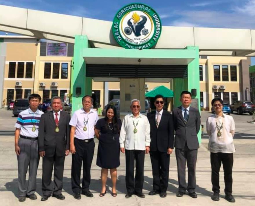 菲台商總會與丹轆農業大學簽訂農業合作備忘錄(圖/駐菲律賓代表處)