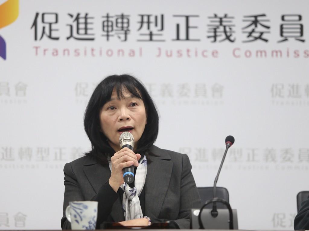 促進轉型正義委員會代理主委楊翠(照片來源:資料照片/中央社提供)