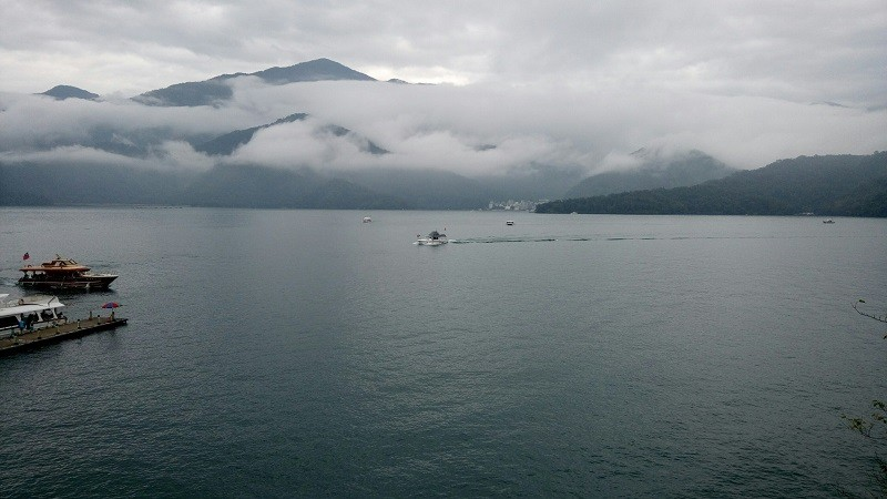 Sun Moon Lake in Nantou County (photo courtesy of George Liao)